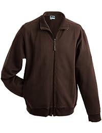 JAMES & NICHOLSON - sweat-shirt zippé - veste french terry - JN058 - homme