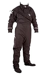 Typhoon Max B Drysuit In Black 100139 Including UNDERFLEECE Sizes- - ExtraLarge