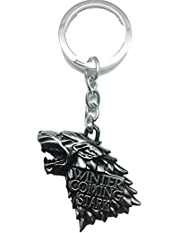 Game of Thrones, House Stark Direwolf Keychain