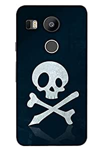 Clarks Printed Back Cover For Lg Google Nexus 5x