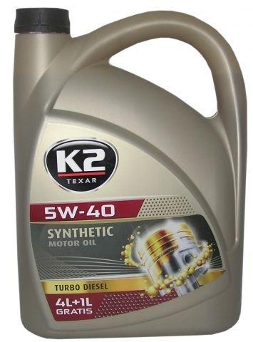 Motoröl Öl vollsynthetisch 5l 5W-40 TURBODIESEL