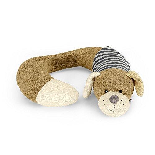 Sterntaler Nackenstütze, Hund Hanno, Größe: L, Alter: Für Babys ab der Geburt, Braun