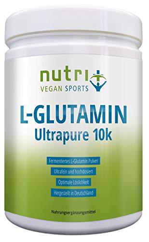 L-GLUTAMIN PULVER 500g Ultrapure - 99,95{616f83355dcfd4f36114a0eb75c2c072e97168c4bce75573440c91e3779eeaf6} rein - geschmacksneutral ohne Zusatzstoffe - hergestellt in Deutschland - Fitness & Bodybuilding - Vegan Glutamine Powder Made in Germany