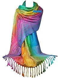 GFM sciarpa/stola stile pashmina, morbida come la seta