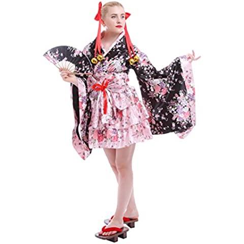 Nuoqi® Formale tradizionale giapponese donne indossano kimono cosplay costumi