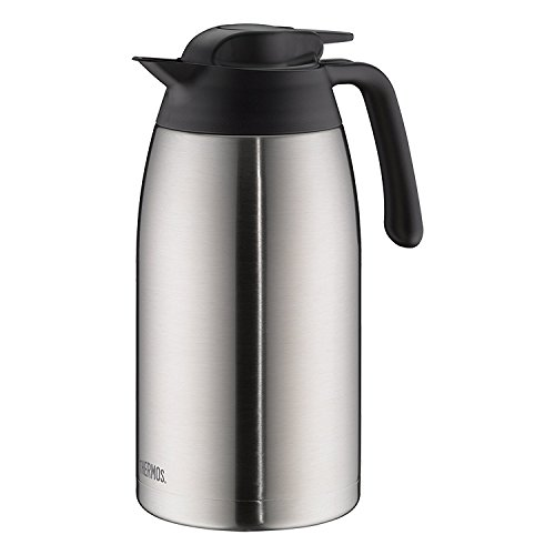 Thermos 4026.205.200 Isolierkanne Thv, 2, 0L Isolierkanne, Edelstahl, 12, 5 x 16, 5 x 25, 5 cm