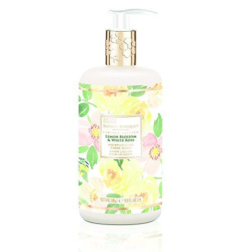 Baylis & Harding Royale Bouquet Zitronenblüte & Weiße Rose Flasche Handwäsche, Packung mit 3 Stück