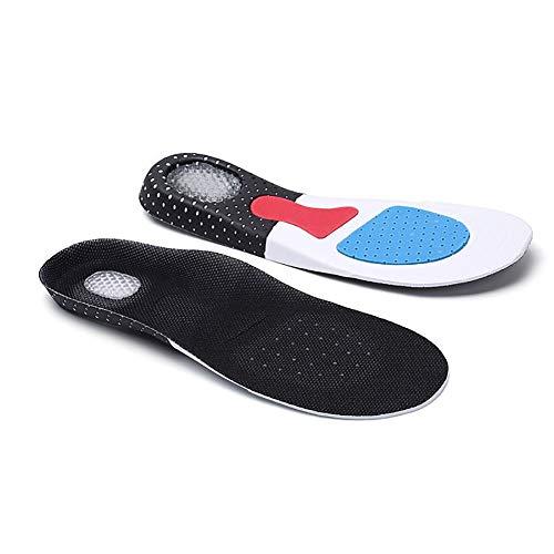 e74e70699bbbf Hilai 1 par de Plantillas para Calzado Transpirable Transpirable Plantillas  del Amortiguador de la Plantilla Confort Almohada Insertar Zapatos al Aire  ...