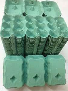 30 1/2 DOZEN NEW GREEN EGG BOXES