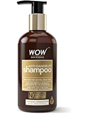WOW Anti Dandruff No Parabens & Sulphate Shampoo, 300mL