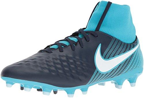 c3cf24b796 Nike Magista Onda II DF FG, Chaussures de Football Homme, (Obsidienne Gamma  Bleu