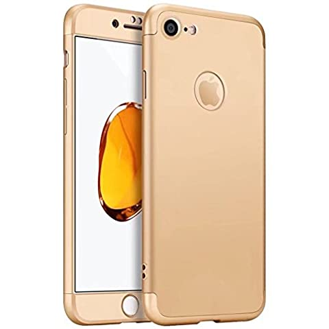 iPhone 6 Plus Case,iPhone 6S Plus cover TXLING 360 Degree Protection 3 in 1 Slim Cover Shockproof Shell Full Body Coverage Protection Case For iPhone 6 Plus/6S Plus 5.5 - Gold