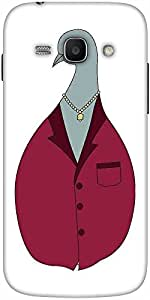 Snoogg Funny Art Designer Protective Back Case Cover For Samsung Galaxy Ace 3