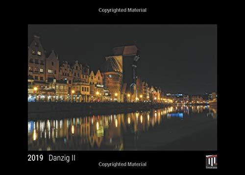 Danzig II 2019 - Black Edition - Timocrates wall calendar, picture calendar, photo calendar - DIN A4 (30 x 21 cm)