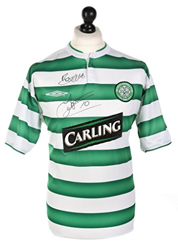 John-Hartson-Signed-Celtic-2003-2004-Home-Shirt-Autograph-Jersey-Memorabilia-COA
