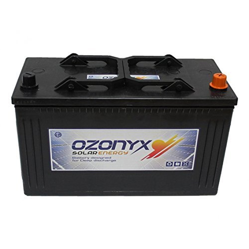 Bateria Solar 125ah 12v Ozonyx Battery Solar 125AH Baterias sellada...