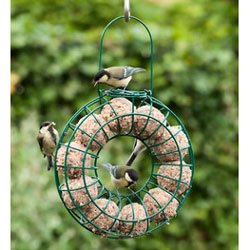 Fat Ball Feeding Ring - Holds 10 Fat Balls by C J Wildlife