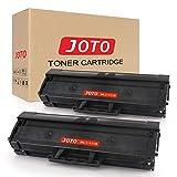 JOTO MLT-D111S Toner Ersatz für Samsung MLTD111S D111S 111S Toner Kompatibel für Samsung Xpress M2020 M2020W M2022 M2022W M2070 M2070W M2070FW M2026 M2026W M2021 Drucker, 2 Schwarz