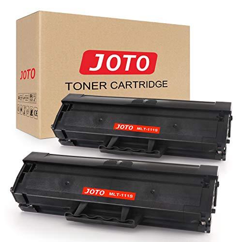 JOTO MLT-D111S Toner Cartuccia Compatibile per Samsung MLT-D111S MLT D111S 111S (2 Nero) Compatibile con Samsung Xpress SL-M2070FW SL-M2070 SL-M2070 SL-M2026 SL-M2026W SL-M2022W SL-M2020 SL-M2022
