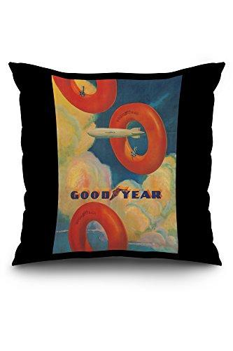 goodyear-vintage-poster-artist-wolfe-spain-c-1925-20x20-spun-polyester-pillow-case-black-border