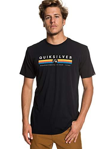 Quiksilver Herren Get Bizzy T-Shirt, Black, XXL (T-shirts Männer Xxl Quiksilver Für)