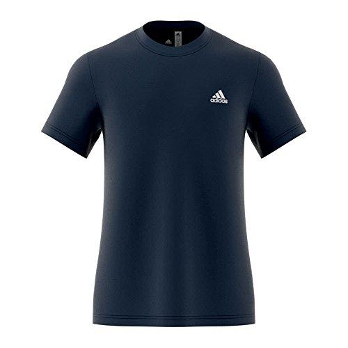 adidas Herren Essentials Base T-Shirt, Collegiate Navy/White, XS