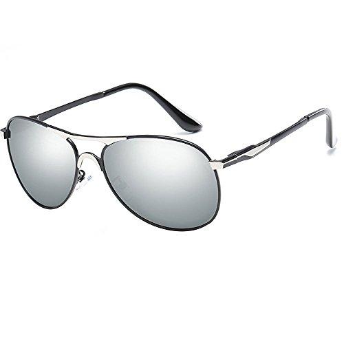 Sonnenbrillen, UV-Schutz Sonnenbrillen für Männer und Frauen, Polarisierte Sonnenbrillen, Sport Aviator Sonnenbrillen (Color : 10)
