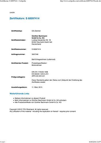 ONYX Elektrischer Lattenrost – Testfavorit - 7