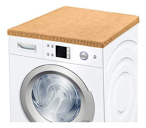 Ladeheid Waschmaschinenbezug Frotteebezug 50x60 c (Beige)