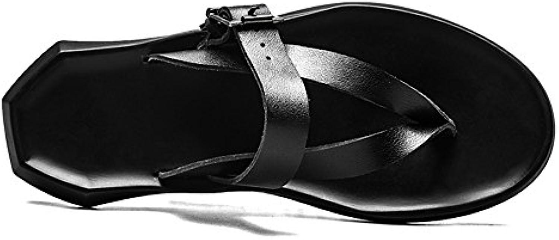 Männer Dicken Boden Persönlichkeit Flip Flop England Flip Flops Sommer Strand Hausschuhe Geeignet fuumlr Unterwasser und