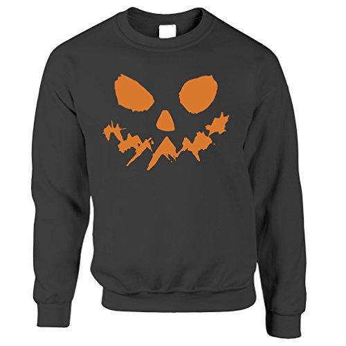 t Halloween-Kürbislaterne Horror Geist Fantasie Unisex-Pullover (Halloween-lebensmittel Süße)