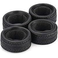 Lorenlli 4 unids 1/10 Deriva de Grano Medio RC Neumático de Coche en Carretera