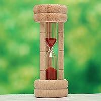 Bluelover 3 minuti clessidra clessidra sabbia uovo cucina cucina Timer clessidra Timming orologio regalo - 4in Regalo Tubo