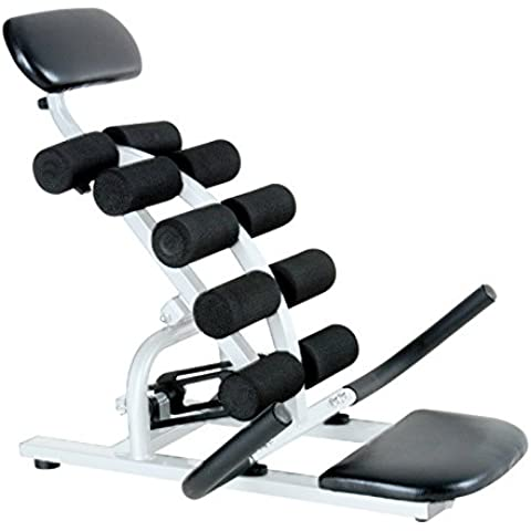 Fitness House Balance Power - Aparato para espalda, color blanco / negro, talla única