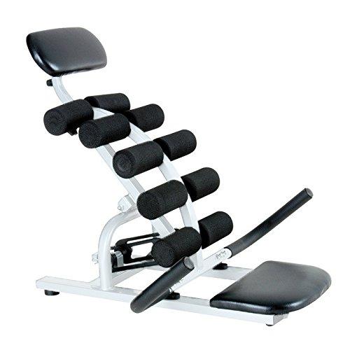Fitness House Balance Power - Aparato para Espalda, Color Blanco/Negro, Talla única