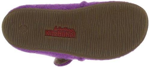 Living Kitzbühel Baby Klettschuh Unifarben, Chaussons mixte enfant Violet (371 Iris)