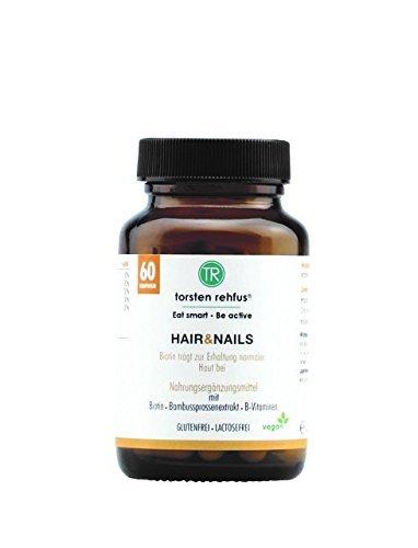 Haare, Nägel und Haut-Komplex mit Vitaminen, Biotin, Zink und Silizium. 60 Kps.