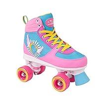 Hudora, Pattini da Donna e Ragazza Skate Wonders, taglia35-40, Unisex, 13152, Multicolore, 37/38