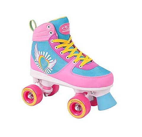 HUDORA Rollschuhe Damen Mädchen Skate Wonders, Roller-Skates, Gr. 39-40, 13154