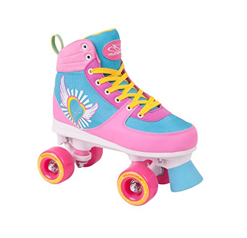 HUDORA Rollschuhe Damen Mädchen Skate Wonders, Roller-Skates, Gr. 35-40