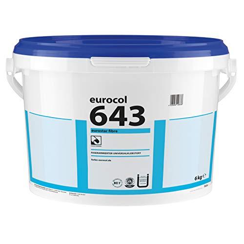 Forbo Eurostar Fibre 643 faserarmierter Universal Vinylkleber 6kg für Vinylboden