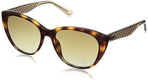 Lacoste l832s 214 54, occhiali da sole donna, marrone (havana)