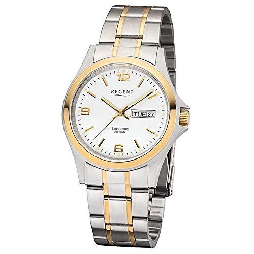 Regent 13064190montre bracelet Homme en Acier Inoxydable Cristal Saphir 20bars