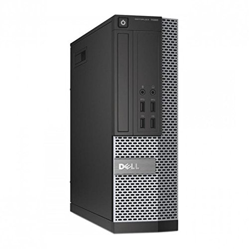 Dell Optiplex 7010 SFF PC (Intel Core i5, 8GB, 250GB, Intel HD Graphics 2500, Windows 10 Home) anthrazit (Zertifiziert und Generalüberholt)