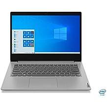 Lenovo Ideapad Slim 3i Intel Core i3 10th Gen 14 inch HD Thin and Light Laptop (4GB/1TB HDD/Windows 10/Platinum Grey/1.6Kg), 81WD00JYIN