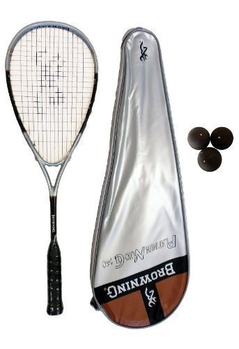 Browning Platinum Nano 140 Squashschläger + Squash-Bälle