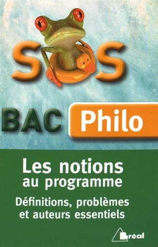 SOS bac philo - Les notions