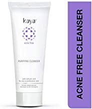 Kaya Clinic Acne Free Purifying Cleanser, Salicylic Acid enriched face wash for acne-prone & oily skin, 10