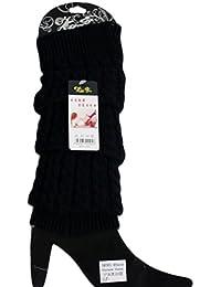 Mode Féminine Hiver Tricot Crochet Guêtres Legging 5 Couleurs