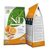 Hundefutter Trockenfutter N&D Fisch & Orange, Getreidefrei - Natural & Delicious Farmina (800 Gramm)